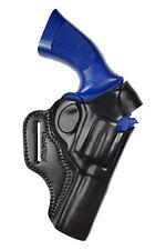 R4 cuero 4 pulgadas de ejecución sobaquera revolver funda para dan Wesson .357 357