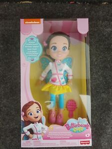 "Fisher Price Butterbean's Cafe Fairy Sweet Scented Doll 10"" New"