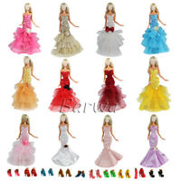 Barwa 5 random fishtail skirt + 10 shoes Best gift for your baby