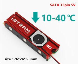 M.2 SSD heat sink ngff vest double-sided cooling SATA 5V
