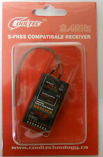 Cooltec RSF08SB 2.4GHz 8CH Receiver Futaba s-fhss/fhss Transmitter type new