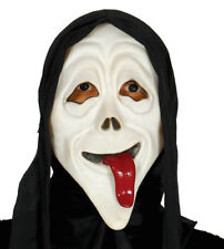 Scary Movie Halloween Fancy Dress Mask Face Mask With Hood Screamer Whassup