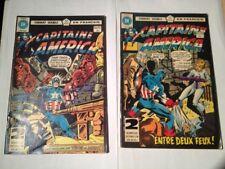 Capitaine America Et Le Faucon # 86/87, 92/93 Edition Heritage