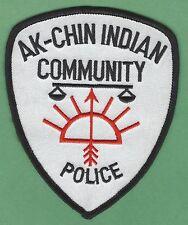 AK-CHIN COMMUNITY ARIZONA TRIBAL POLICE PATCH