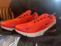 Nike Air Max 270 Red Orbit Black Running Shoes Men's Size 12 [BV6078-600]