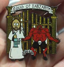 South Park Weed Dabs Pin 710 Enamel Jesus Satan