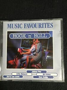 Music Favourites-Rock'n'Roll - Danny & the Juniors, Johnny Ray, CD Sehr gut #621