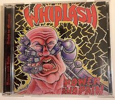 Whiplash - Power & Pain CD 1998 Displeased D-00053 Thrash Metal VG RE NL Comp