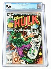 CGC 9.6 INCREDIBLE HULK #250 * Giant-Size HULK vs SILVER SURFER * White Pages