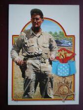 POSTCARD WWII CAPTAIN JOE FOSS USMC  WWII - ABOVE & BEYOND
