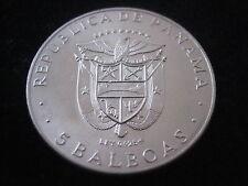 "MDS panamá 5 balboas 1970 ""centroamericana juegos"", plata #31"