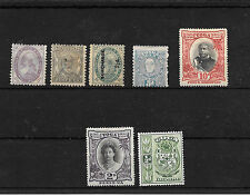 Tonga. Colonias Inglesas. Conjunto de 7 sellos nuevos y antiguos