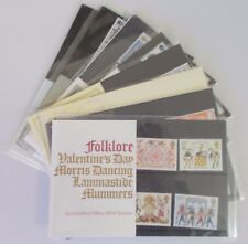 1981 Royal Mail Commemorative Presentation Packs. Sold separately & as year set.