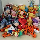 Lot+of+10+Disney+Winnie+the+Pooh+Eeyore+Tigger+Piglet+Beanbag+Plush