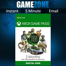 3 Month Xbox Game Pass Membership Subscription both Existing & New- Xbox One/360