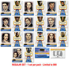 Twilight Breaking Dawn -TWILIGHTGRAPHS - 10 Card set + Jasper  Parallel Card