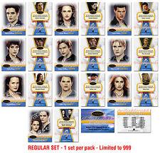 Twilight Breaking Dawn -TWILIGHTGRAPHS - 10 Card set + 1 BELLA Parallel Card
