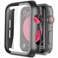 Coque Apple Watch Serie 5 Serie 4, 44mm Protection Ecran Ultra Mince Trempe