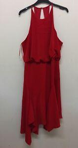 Lipsy london red dress Size UK16 EU44 {Z2}