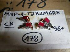 LOT OF 10 PCS MSP-1-T2BZM6RE SWITCH