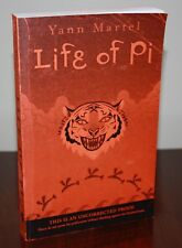LIFE OF PI Uncorrected Proof True 1st Printing {Signed & Lined} ARC Yann Martel