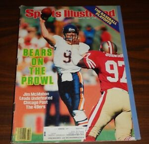 SHIPPED IN A BOX -  Sports Illustrated Magazine October 21 1985 Jim McMahon