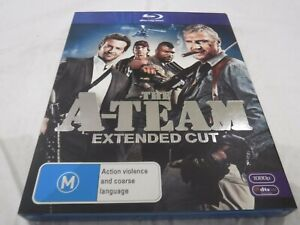 THE A-TEAM Extended Edition Bluray Bradley Cooper Liam Neeson As New Free Post