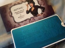new MoYou LONDON STAMPING PLATE - GOTHIC 10 nail art polish design