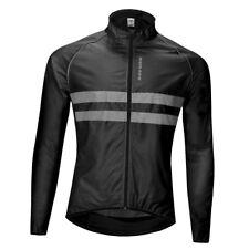Unisex Cycling Jerseys Wind Coat Breathable Jacket Quick dry Tops Sportswear
