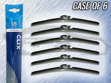 "AUTOTEX CLIX 18"" WIPER BLADE - CLIX-18 - CASE OF 6 - REPLACES IN 10 SECONDS"
