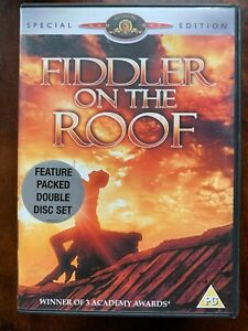 Fiddler on the Roof DVD 1971 Topol Musical Movie Classic 2-Disc Special Edition