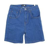 Womens Boohoo Blue Denim Shorts Size 8/L5