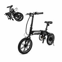 SwagCycle EB-5 Lightweight Folding EBike Pedals Lithium Ion Battery Refurbished