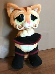 Dreamworks PUSS N' BOOTS battery operated Shrek Collectible