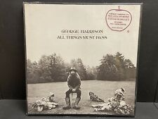 GEORGE HARRISON All Things Must Pass NEW/SEALED 3LP w/ Hype Sticker APPLE US