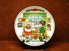 """Joan Walsh Anglund """" Waiting For Christmas"""" Collector Plate 1979 ~ Free Shipping"""