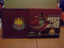 WEST HAM UNITED FOOTBALL CLUB  MEMBERSHIP 2009/10 DVD ILLUSTRATED HISTORY BOOK