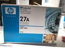 GENUINE HP C4127A Toner Cartridge 27A for HP LaserJet 4000 4050 SEALED (AZ2061)