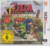 The Legend of Zelda: Tri Force Heroes - Nintendo 3DS -NEU & OVP Deutsche Version