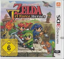 The Legend of Zelda: Tri Force Heroes-Nintendo 3ds-NUOVO & OVP versione tedesca