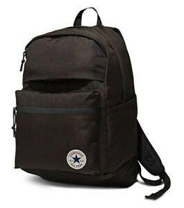 Converse Backpack CHUCK TAYLOR School Laptop Travel Bag - All Black