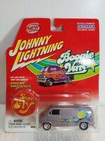 Johnny Lightning Limited Edition Custom Van 1975 Dodge D-100 Silver Boogie Vans