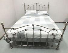 Silver Cast Iron Beds & Mattresses