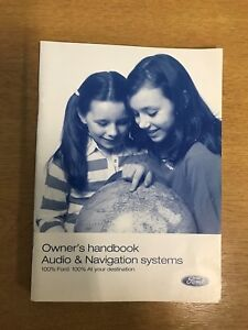 Ford Audio and navigation systems owners handbook