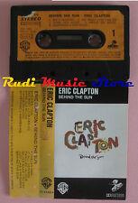 MC ERIC CLAPTON Behind the sun 1985 italy WARNER 92 5166-4 cd lp dvd vhs
