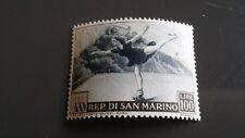 FRANCOBOLLI REPUBBLICA SAN MARINO PROPAGANDA SPORTIVA 1953 LIRE 100