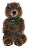 Woodchuck Die Murmeltier Von Charlie Bears - Bearhouse Plüsch Stofftier -