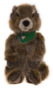 Woodchuck the Groundhog by Charlie Bears - Bearhouse plush soft toy - BB214103