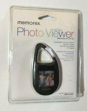 "Memorex Carabiner Photo Viewer 2 MB Digital-Memories On-The-Go-1.5"" Display NEW"
