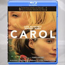 Carol Una Pelicula De Todd Haynes Blu-ray Región A, B, C